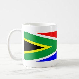 south africa country flag nation symbol name text coffee mug