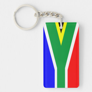 south africa country flag nation symbol name text keychain