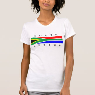 south africa country flag nation symbol name text T-Shirt