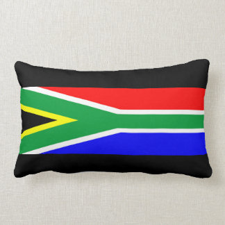 south africa country flag nation symbol name text throw pillow