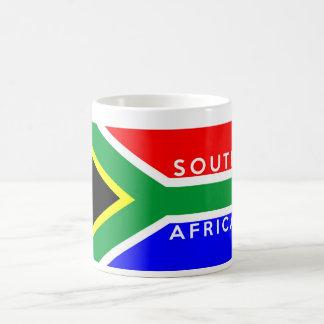 south africa country flag symbol name text coffee mug
