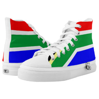 South Africa country flag symbol nation High-Top Sneakers