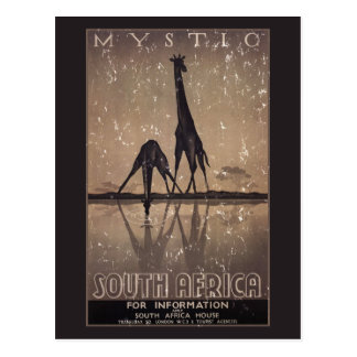 South Africa - distressed Postcards