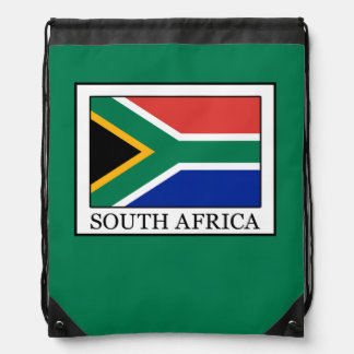 South Africa Drawstring Backpack