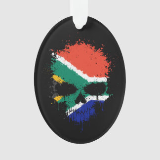 South Africa Dripping Splatter Skull