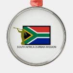 SOUTH AFRICA DURBAN MISSION LDS CTR CHRISTMAS TREE ORNAMENTS