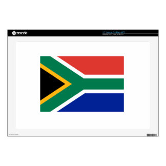 """South Africa Flag 17"""" Laptop Decal"""