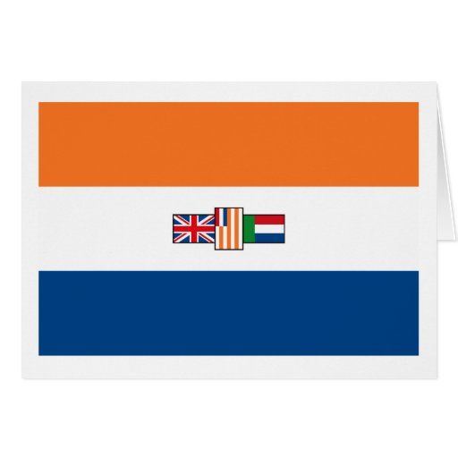 South Africa Flag (1928) Greeting Card
