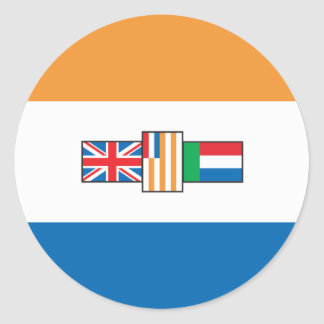 South Africa Flag 1928 Classic Round Sticker