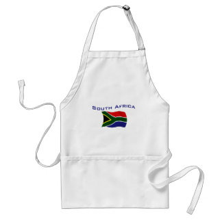South Africa Flag 1 Apron