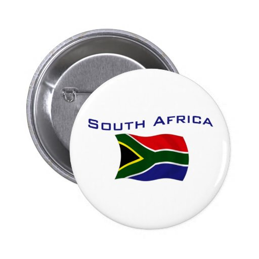 South Africa Flag 1 Buttons