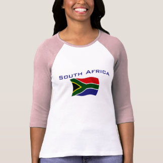 South Africa Flag 1 Tees