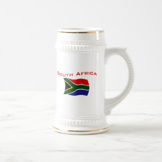 South Africa Flag 2 Beer Stein