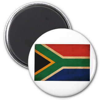 South Africa Flag 2 Inch Round Magnet