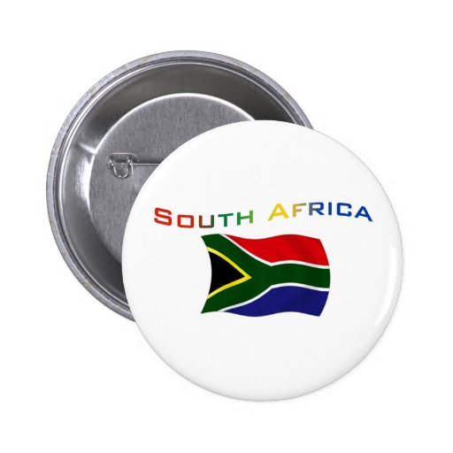 South Africa Flag 3 Pin