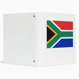 South Africa Flag 3 Ring Binder
