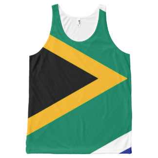South Africa flag All-Over Print Tank Top