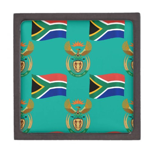 South Africa Flag and Crest Premium Gift Boxes