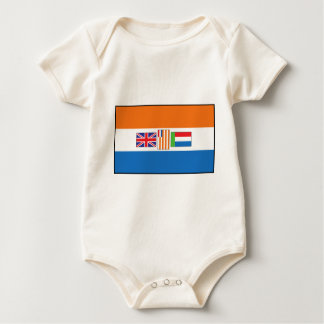 South Africa Flag Baby Bodysuit