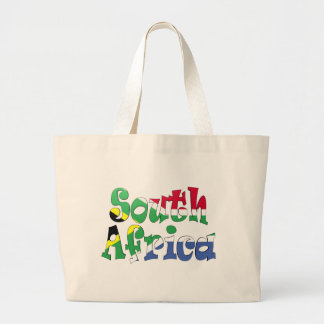 South Africa Flag Bag Tote Bags