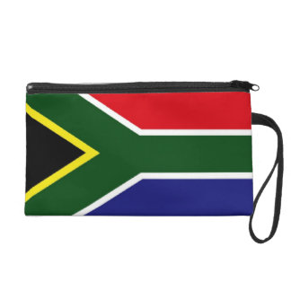 South Africa Flag Wristlet Clutches