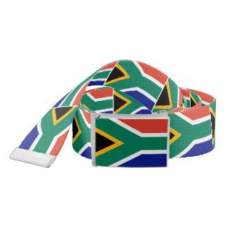 South Africa flag Belt