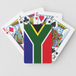 South Africa Flag Bicycle Playing Cards
