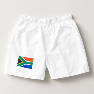 South Africa Flag Boxers