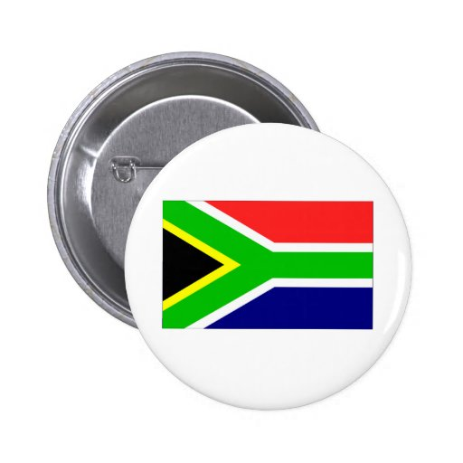 South Africa Flag Buttons