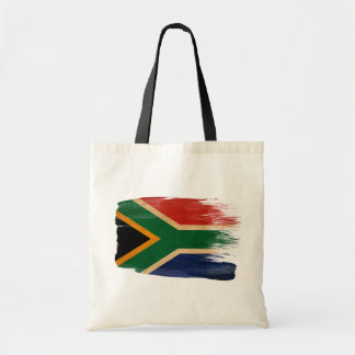 South Africa Flag Canvas Bags