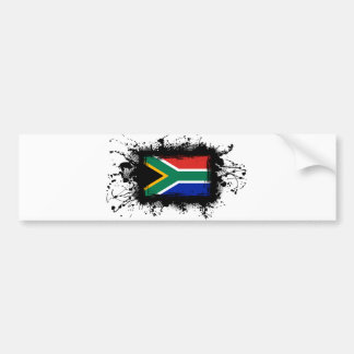 South Africa Flag Car Bumper Sticker