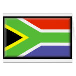 South Africa Flag Cards