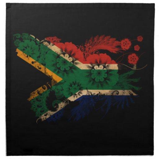 South Africa Flag Cloth Napkins