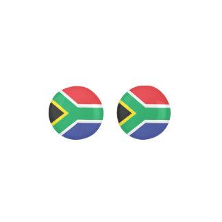 SOUTH AFRICA Flag Earrings