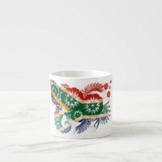 South Africa Flag Espresso Cup