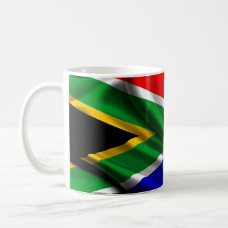 South Africa Flag Fabric Coffee Mug