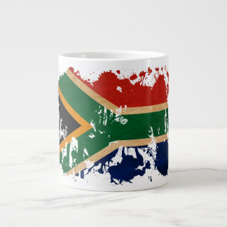 South Africa Flag Giant Coffee Mug