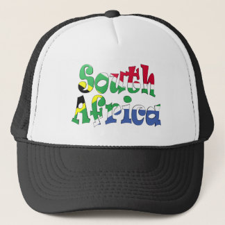 South Africa Flag Hat