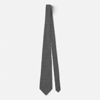 South Africa Flag Honeycomb Tie