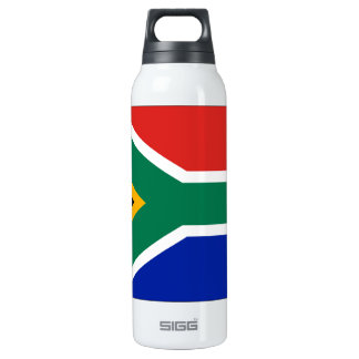 South Africa Flag Insulated Water Bottle