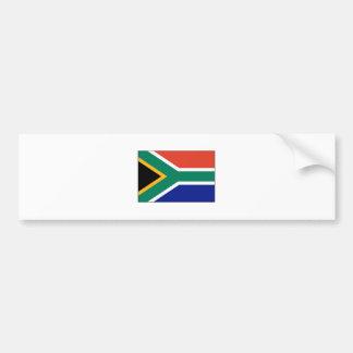 South Africa FLAG International Bumper Sticker