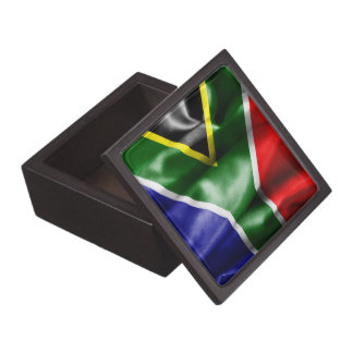 South Africa Flag Jewelry Box