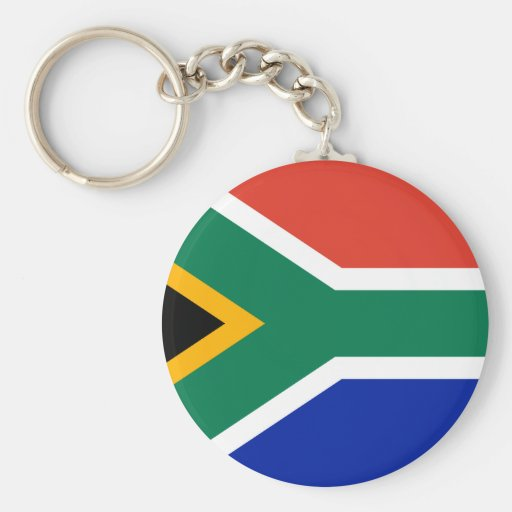 South Africa Flag Key Chains