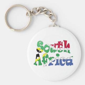 South Africa Flag Keychain