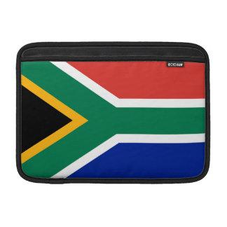 South Africa Flag MacBook Sleeve