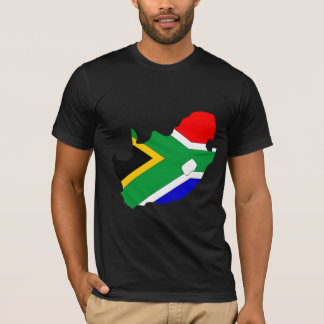 South Africa Flag Map full size T-Shirt