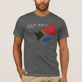 South Africa Flag Map Shirt