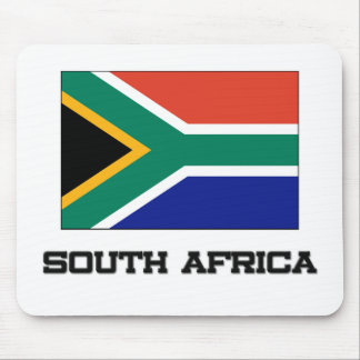 South Africa Flag Mouse Pads
