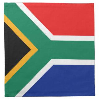 South Africa Flag Napkin