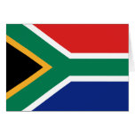 South Africa Flag Notecard Stationery Note Card